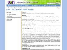 The World Outside My Door Lesson Plan
