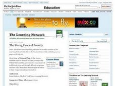 The Young Faces of Poverty Lesson Plan