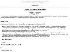 Them Damned Pictures Lesson Plan