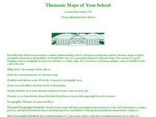 Thematic Maps of Your School Lesson Plan
