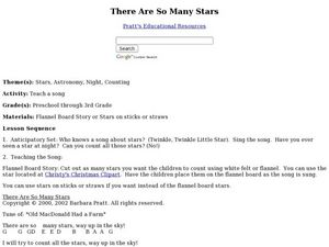 There Are So Many Stars Lesson Plan