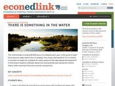 There Is Something in the Water Lesson Plan