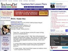 They Lesson Plan