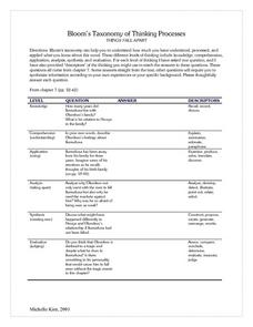 Taxonomy Worksheet Answers - Best Worksheet
