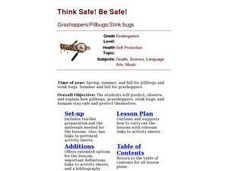 Think Safe! Be Safe! Lesson Plan