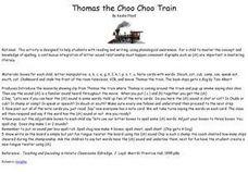 Thomas the Choo Choo Train Lesson Plan