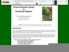 Those Particular Plants in Particular Regions Lesson Plan