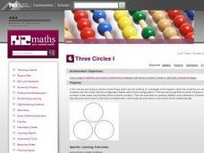 Three Circles I Lesson Plan