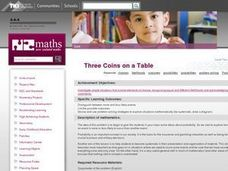 Three Coins on a Table Lesson Plan