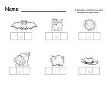 math worksheet : cvc words worksheets for kindergarten  worksheets for education : Kindergarten Cvc Worksheets