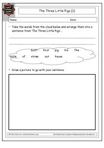 Three Little Pigs (1) Worksheet