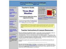 Three Meal Weather Lesson Plan