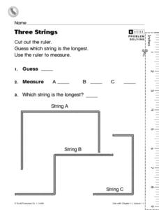 Three Strings Worksheet