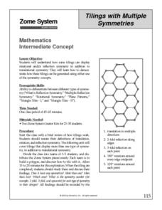 Tilings with Multiple Symmetries Lesson Plan