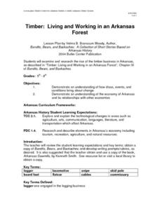 Timber: Living and Working in an Arkansas Forest Lesson Plan