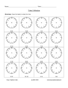 Time 5 Minutes Lesson Plan
