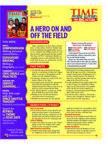 Time for Kids, February 14, 2003 Lesson Plan