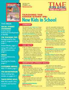 Time For Kids:  Making Inferences and Reading for Details Lesson Plan