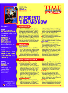 Time For Kids: Presidents Then and Now Lesson Plan
