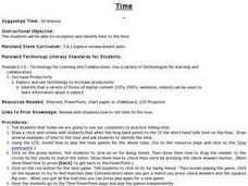 Time Games Lesson Plan