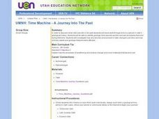 Time Machine - A Journey Into The Past Lesson Plan
