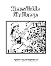 Times Table Challenge Worksheet