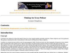 Timing An X-ray Pulsar Lesson Plan