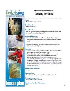 Titanic: Looking for Clues Lesson Plan