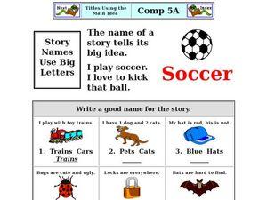 math worksheet : titles using the main idea kindergarten  2nd grade worksheet  : Main Idea Worksheets Kindergarten