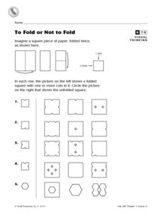 To Fold or Not to Fold Worksheet