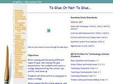 To Glue or Not to Glue Lesson Plan