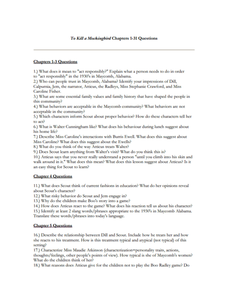 to kill a mockingbird chapters 1 31 questions 7th 10th grade worksheet lesson planet. Black Bedroom Furniture Sets. Home Design Ideas