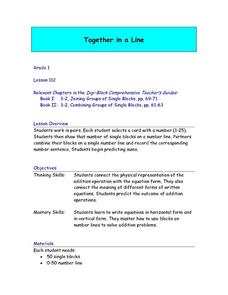 Together in a Line: Collaborative Addition Lesson Plan