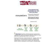 Tony Bennett VH1 Storytellers for VH1 Save the Music Lesson Plan
