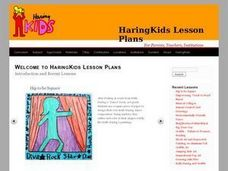 Tools For Discussing Haring's Work Lesson Plan