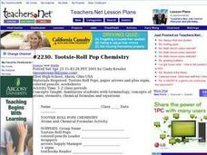 Tootsie-Roll Pop Chemistry Lesson Plan