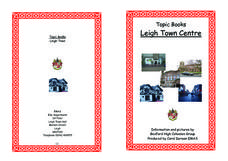 Topic Books: Leigh Town Center Worksheet