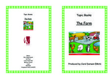 Topic Books: The Farm Worksheet