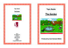 Topic Books: The Garden Worksheet