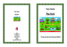 Topic Books: The Park Worksheet