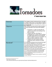 Tornadoes Lesson Plan
