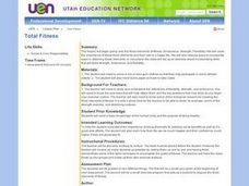 Total Fitness Lesson Plan
