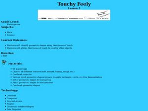 Touchy Feely Lesson Plan