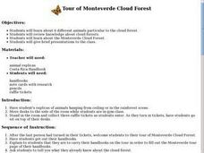 Tour of Monteverde Cloud Forest Lesson Plan