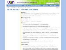 Tour of the Solar System Lesson Plan