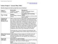 Town Planning Lesson Plan