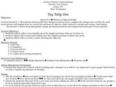 Toy Tally One Lesson Plan