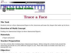 Trace a Face Lesson Plan