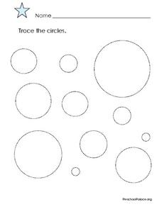 Trace the Circles Lesson Plan