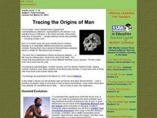 Tracing the Origins of Man Lesson Plan